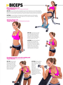 Oxygen Magazine - Ultimate Arms workout