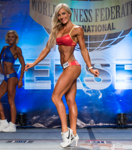 Sarah O'Connor - Competior No 119 - 1st Round - Women Sports Model Amateur - WFF Universe