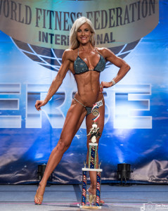 Sarah O'Connor - Competitor No 199 - 2nd Round - Women Sports Model Amateur - WFF Universe 2016