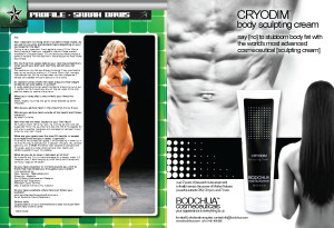 Natural Bodz Star Profile for Sarah O'Connor Volume 5 Issue 4.